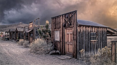No Love In The Room (emiliopasqualephotography) Tags: ghosttown duststorm clouds cabin shack desert