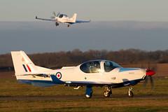 Prefect T1 ZM305 57Sqn 3FTS (spbullimore) Tags: heath barkston grob 120 prefect t1 uk royal air force raf 2019 57 sqn squadron 3 fts flight training school zm305