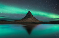 Kirkjufell Lake Aurora (Nico Rinaldi) Tags: allaperto light sky aire mood rocks rocky rock cliff montagne mountain nightsky constellation astro night stars black blu blue green mygearandme longexposure largaexposición digitalcamera digitalphoto sigma nikonflickraward flickr flickraward superfototdigital profoto photoshop nikon wonderland wonder flowing traveltheworld magicmarvels travelphotography trip travelling impressive explore flikerlike followme paesaggiophotooftheday landscape natural wilderness amazing naturale fantastic mejoresfotos creative art fineart natura paesaggio nicorinaldinet nickrinaldi nicorinaldi nordic ìsland north iceland север исландия kirkjuffel southiceland auroraborealis северноесияние 冰岛 北极光