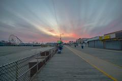 Wildwood Boardwalk (seanbeebe_photo) Tags: boardwalk wildwood nj newjersey sunset
