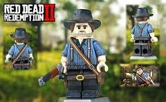LEGO Red Dead Redemption 2 - Arthur Morgan (MGF Customs/Reviews) Tags: lego red dead redemption 2 arthur morgan custom figure minifigure