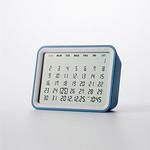 クロック/カレンダー/温湿度計付き時計の写真