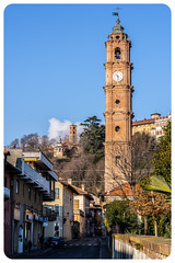 Pieces of history of Valperga, Italy (alessio.vallero) Tags: campanile church chiesa belltower piemonte piedmont tower valperga provinceofturin italy it