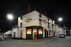 The Gunmaker's Arms, Bath Street, Birmingham 12/12/2018 (Gary S. Crutchley) Tags: gunmakers arms bath street st birmingham victorian real ale brewery tap two towers uk great britain england united kingdom urban city at night west midlands westmidlands nikon d800 history heritage local shot nightshot nightphoto nightphotograph image nightimage nightscape time after dark long exposure evening travel slow shutter raw pub inn beer tavern hostelry bar public house black and white monochrome bw mono