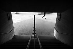Steps (joephoto uk) Tags: southbank london steps stairs man walking rail