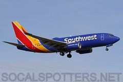 N213WN (SoCalSpotters) Tags: swa ksjc socalspotters b737 sanjose boeing737 southwestairlines