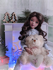 Magic Christmas for Rosie (GlamLadyDollstudio) Tags: dolls dollfashion dollsoutfits dollclothes dollhouse tonner tonnerdoll agatha christmas