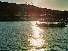 Maremagnum Sunset (Carlos Oteo) Tags: barcelona puerto sony a58 tamron mar sea cataluña españa spain