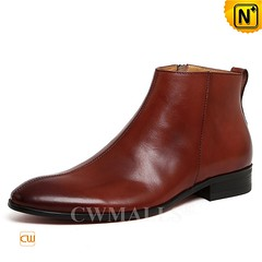 Men Leather Boots | CWMALLS® Paris Classic Leather Dress Boots CW719001 [Free Shipping] (cwmalls2018) Tags: men leather ankle dress boots shoes fashion shopping gift