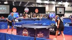 Men's Singles Over-85 Final (Sotosoroto) Tags: lasvegas vegas lvcc wvc2018 nevada pingpong tabletennis