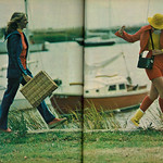 1973 Fashion Ad Layout, Outdoor Greats, Lovely Teen Models (2 pgs) thumbnail