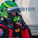 Patrick Long readies to race