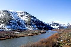 John Day River, Oregon (icetsarina) Tags: winter snow oregon river mountains johnday