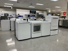 Sears Coral Gables (Phillip Pessar) Tags: sears department store coral gables miami bankrupt washig machine appliance