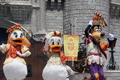 Mickey's Royal Friendship Faire at the Magic Kingdom (Hazboy) Tags: hazboy hazboy1 magic kingdom disney world september 2018 florida vacation characters show castle cinderella