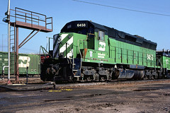 BN SD45 6458 (chuckzeiler50) Tags: bn sd45 6458 railroad emd locomotive denver train jimaltman chz