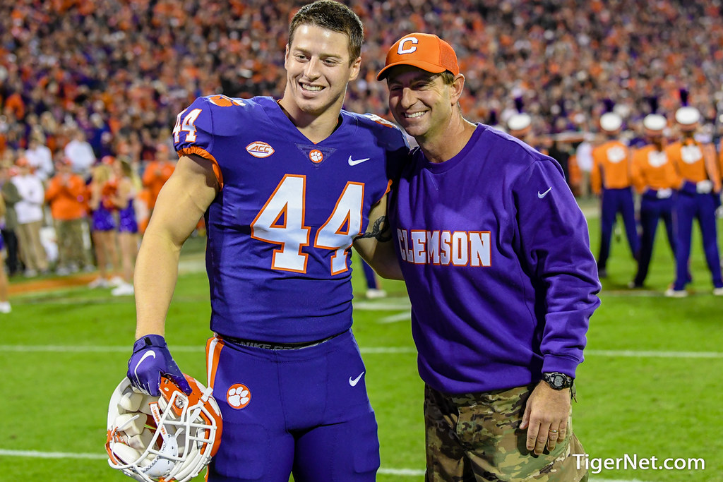 Clemson Photos: Garrett  Williams, 2018, Duke, Dabo  Swinney, Football