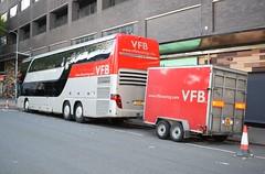 Drenge @ Swn Festival 2018 Vans For Bands Tour Bus S11 VFB (5asideHero) Tags: drenge swn festival 2018 vans for bands setra s 431 dt tour bus double decker band transport nightliner s11vfb