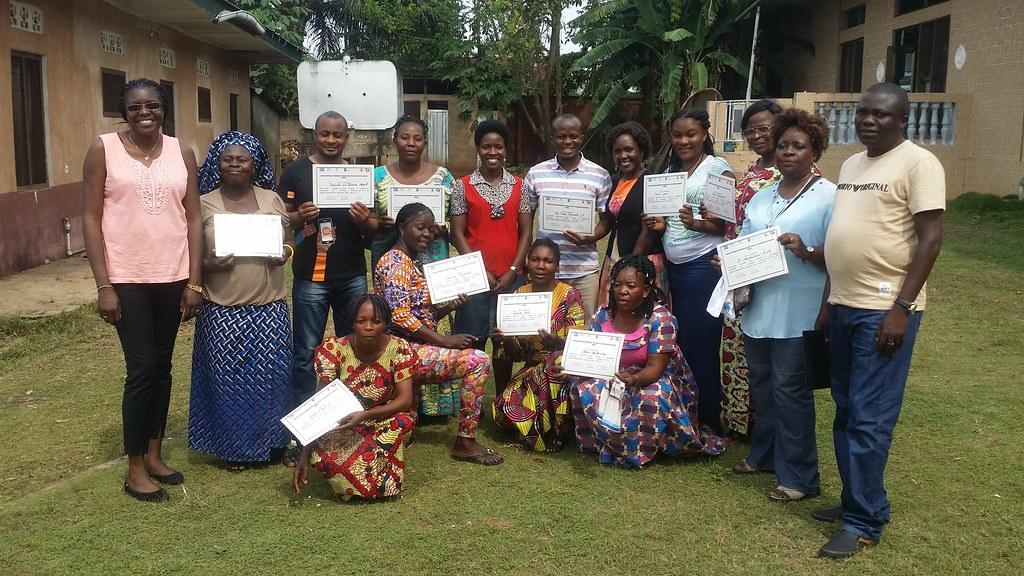 Teamwork meeting in Kikwit (DR Congo)