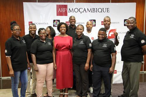 AHF Mozambique Program Launch
