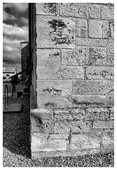 Surveyors benchmark , Blackness Castle (wwshack) Tags: benchmark blacknesscastle castle falkirk historicscotland linlithgow ordinancesurvey riverforth scotland surveyorsmark westlothian
