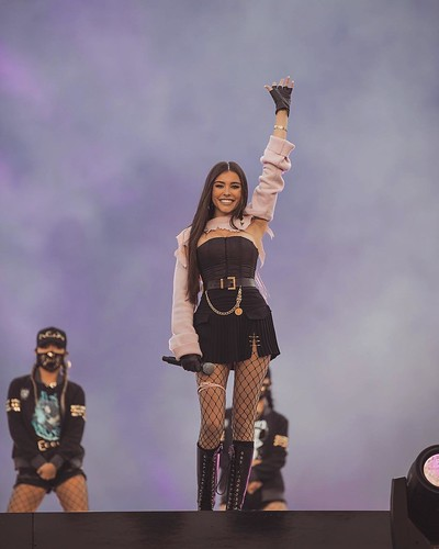 Madison Beer at League of Legends Opening Ceremony