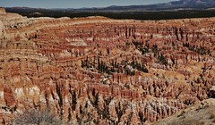 Hoodoo Heaven (Susan Roehl) Tags: nationalparkstour2017 brycecanyonnationalpark distinctgeologicalstructures paunsauguntplateau southwesternutah usa hoodoos settledbymormons ebenezerbryce 35835acres sueroehl panasonic lumixdmcgh4 handheld canyon landscape rock cliff trail tentrock fairychimney earthpyramid tallthinspire humanheight totenstorybuilding rockformations foundmainlyindesertareas coth coth5 ngc