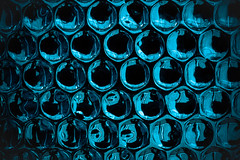 Double Bubble (justingreen19) Tags: cyan abstract abstractphotography blue bubble bubblewrap circles continuous doublevision justingreenphotography justingreen19 metallic packaging packing pattern photography protect protective reflect reflecting reflection surface texture urban urbanabstract urbanabstractphotography