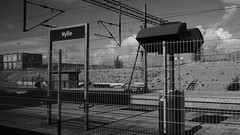 Hyllie, Malmö, Sweden (myuriste) Tags: hyllie malmö sweden blackwhite bnw border european city county mete outdoor urban
