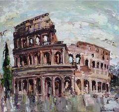 Colosseum By Anastasiya Valiulina, Oil Painting (katalaynet) Tags: follow happy me fun photooftheday beautiful love friends