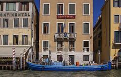 Delivery to the swedish embassy (JLM62380) Tags: swedish embassy boat venise venice venezzia italy italia blue tourism canal