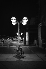 Under the Light (EricGsk) Tags: voigtlander ultron vintageline 35mm f17 vm vme adapterii a7r sony streets sonymirrorlesscamera objects light blackandwhite monochrom koln germany