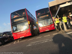 NXWM 4940 / SL14 LRJ / Alexander Dennis Enviro 400 & NXWM 4872 / BX61 LNP / Alexander Dennis Enviro 400 (boshvape) Tags: rail railreplacement station coventry birmingham buses bus nationalexpress nxwm