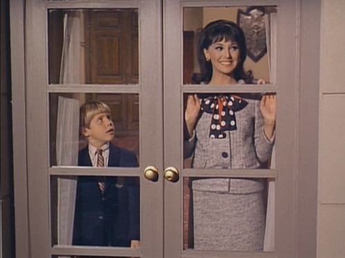 "Christopher Shea, Marlo Thomas, That Girl, ""Christmas and the Hard-Luck Kid,"" 1966"