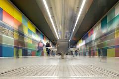 people in motion (muman71) Tags: dscf4403 fuji münchen ubahn underground langzeitbelichtung longexposure 2018 xt2 streetphoto f7 18mm iso200 1sec