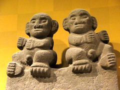 Monkeys (edenpictures) Tags: sculpture statue newyorkcity nyc manhattan mesoamerican precolumbian art nativeamerican americanmuseumofnaturalhistory amnh naturalhistorymuseum museum upperwestside