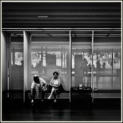 Lines & Beyond #10 (Napafloma-Photographe) Tags: 2018 architecturebatimentsmonuments artetculture aveyron bandw bw fr france kodak kodaktrix400 personnes rodez techniquephoto blackandwhite boutique monochrome napaflomaphotographe noiretblanc noiretblancfrance pellicules photoderue photographe photographie province streetphoto streetphotography muséesoulages musée