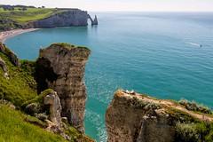 _DSC4964 (durr-architect) Tags: etretat french coast village normandy region hautenormandie chalk cliffs laiguille rock shape point water sea atlantic ocean elephant manneporte