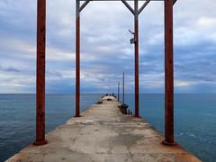 Дорога к морю (zaxarou77) Tags: olympus omd em1 markii micro zuiko mzuiko 1240 f28 1240mm landscape пейзаж море nature clouds