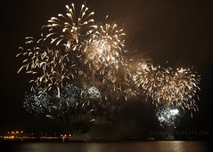 River of Light Fireworks (.annajane) Tags: night fireworks rivermersey river water liverpool bonfirenight festival sky reflection mersey merseyside uk england dark