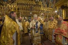 008. Божественная литургия в Киккском монастыре 03.11.2018
