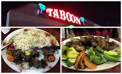 Dinner at Taboon (genesee_metcalfs) Tags: fall autumn november collage dinner taboon quail lamb rice vegetables