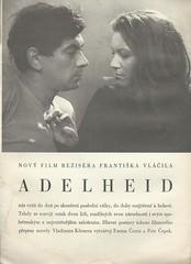 Adelheid - movie (advertisement) (praguehook) Tags: adelheid movie film nase rodina 1969 magazine časopis vláčil körner čepek černá