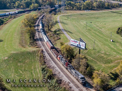 NS 8893 | GE C44-9W | CN Memphis Subdivision (M.J. Scanlon) Tags: business c449w cnharrisonyard capture cargo commerce dji digital drone emd engine freight ge gtw5934 haul horsepower image impression landscape locomotive logistics mjscanlon mjscanlonphotography mp3180 mavik2 mavik2zoom memphis merchandise missouripacific mopac mojo move mover moving ns8893 outdoor outdoors perspective photo photograph photographer photography picture quadcopter rail railfan railfanning railroad railroader railway sd402 scanlon steelwheels super tennessee track train trains transport transportation up4180 view wow ©mjscanlon ©mjscanlonphotography unitedstates us