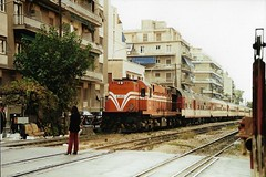 OSE102 A-463 (stevenjeremy25) Tags: hellenic greece greek ose trainose railways train diesel mlw mx627 a463 athens