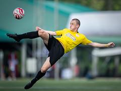 Singa Cup 2018 (BP Chua) Tags: singacup singa cup football soccer sport action player ball canon 1dx 400mm yellow singapore