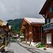 Mountain Alpine village. Murren, Switzerland