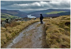 Even wet days can be good. (A tramp in the hills) Tags: pikelowe ladybower derbyshire bamfordedge winhill peakdistrict