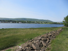 Annapolis River, view to Granville Ferry from lawn of Bailey House, Annapolis Royal, Nova Scotia (Paul McClure DC) Tags: novascotia canada annapolisroyal july2018 maritimes scenery granvilleferry
