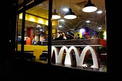 Crack in McDonalds (Bury Gardener) Tags: burystedmunds british britain suffolk england eastanglia uk 2018 nikond7200 nikon snaps street streetphotography streetcandids strangers candid candids people peoplewatching folks cornhill